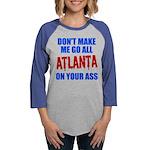 Atlanta Baseball Womens Baseball Tee