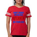 Atlanta Baseball Womens Football Shirt