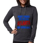 Atlanta Baseball Womens Hooded Shirt