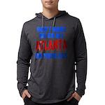 Atlanta Baseball Mens Hooded Shirt