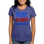 Atlanta Baseball Womens Tri-blend T-Shirt