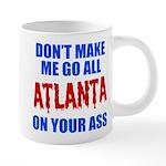 Atlanta Baseball 20 oz Ceramic Mega Mug