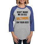 Baltimore Baseball Womens Baseball Tee