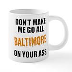 Baltimore Baseball 20 oz Ceramic Mega Mug