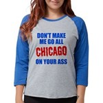 Chicago Baseball Womens Baseball Tee
