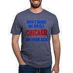 Chicago Baseball Mens Tri-blend T-Shirt