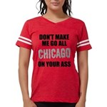 Chicago Baseball Womens Football Shirt