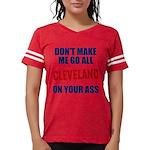 Cleveland Baseball Womens Football Shirt