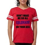Colorado Baseball Womens Football Shirt