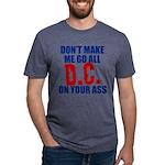 Washington Baseball Mens Tri-blend T-Shirt