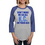 Kansas City Baseball Womens Baseball Tee