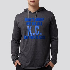 Kansas City Baseball Mens Hooded Shirt