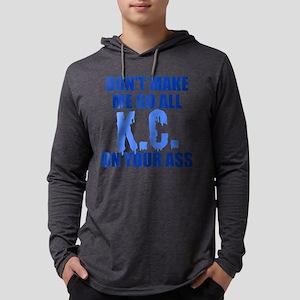 Kansas City Baseball Mens Hooded Shirt