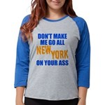New York Baseball Womens Baseball Tee