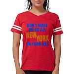 New York Baseball Womens Football Shirt