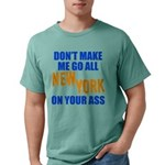 New York Baseball Mens Comfort Colors Shirt
