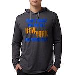 New York Baseball Mens Hooded Shirt