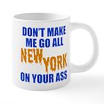 New York Baseball 20 oz Ceramic Mega Mug