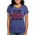 Philadelphia Baseball Womens Tri-blend T-Shirt