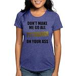 Pittsburgh Baseball Womens Tri-blend T-Shirt