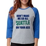 Seattle Baseball Womens Baseball Tee