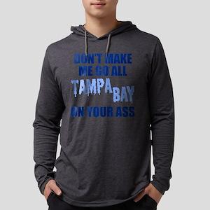 Tampa Bay Baseball Mens Hooded Shirt