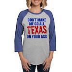 Texas Baseball Womens Baseball Tee