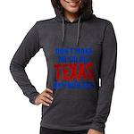 Texas Baseball Womens Hooded Shirt