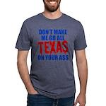 Texas Baseball Mens Tri-blend T-Shirt