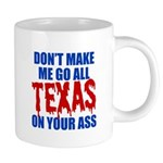Texas Baseball 20 oz Ceramic Mega Mug