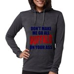 Buffalo Football Womens Hooded Shirt