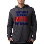 Buffalo Football Mens Hooded Shirt