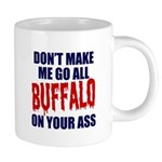 Buffalo Football 20 oz Ceramic Mega Mug