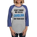 Carolina Football Womens Baseball Tee