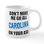 Carolina Football 20 oz Ceramic Mega Mug