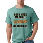 Cleveland Football Mens Comfort Colors Shirt