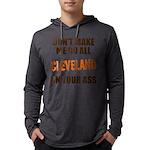 Cleveland Football Mens Hooded Shirt