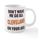 Cleveland Football 20 oz Ceramic Mega Mug