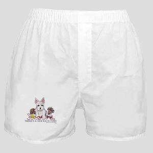 New Kid Westie Puppy Boxer Shorts