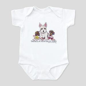 New Kid Westie Puppy Infant Creeper