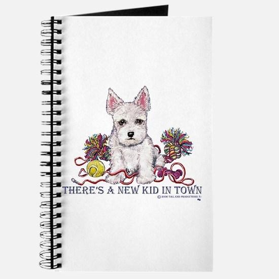 New Kid Westie Puppy Journal