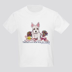 New Kid Westie Puppy Kids T-Shirt