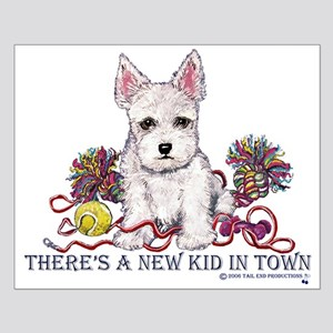 New Kid Westie Puppy Small Poster