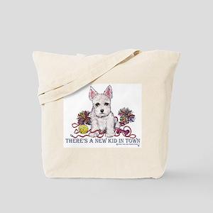 New Kid Westie Puppy Tote Bag