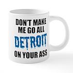 Detroit Football 20 oz Ceramic Mega Mug
