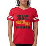 Green Bay Football Womens Football Shirt