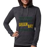 Green Bay Football Womens Hooded Shirt