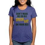 Green Bay Football Womens Tri-blend T-Shirt