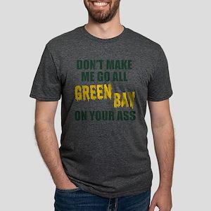Green Bay Football Mens Tri-blend T-Shirt