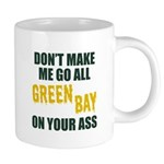 Green Bay Football 20 oz Ceramic Mega Mug
